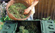 Процесс приготовления компоста
