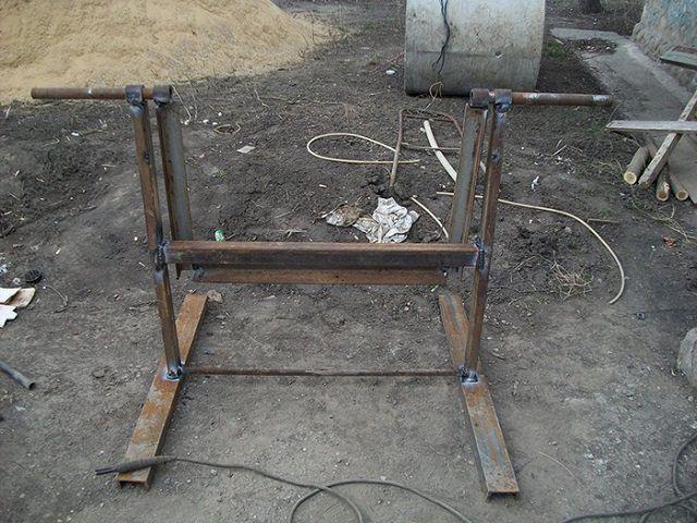 Самадельная бетонамешалка