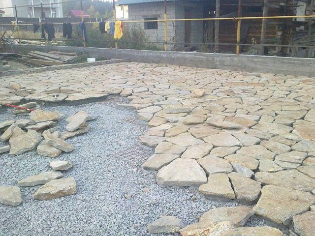 Цементный раствор для укладки природного камня вибратор глубинный для бетона в нижнем новгороде купить