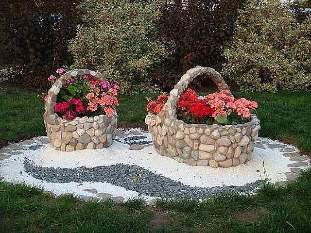 Как сделать развалины декоративные в саду?