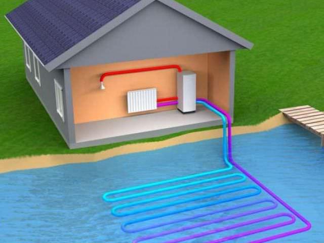 Оборудование на дне водных ресурсов