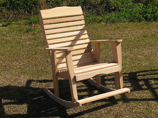как делать кресло качалку