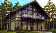 сборный дачный домик