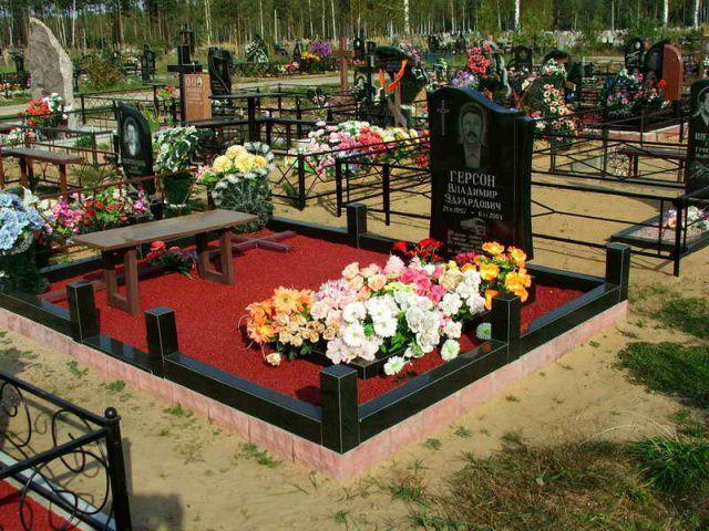 Озеленение и благоустройство могил