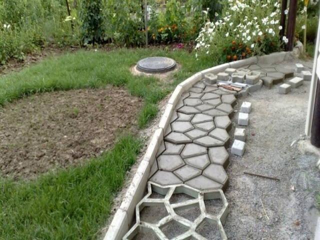 прессованный бетон