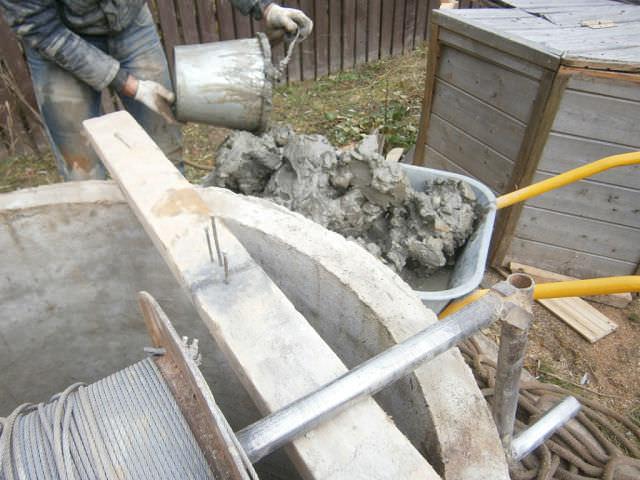 Очистка колодцев вручную и механизированным способом