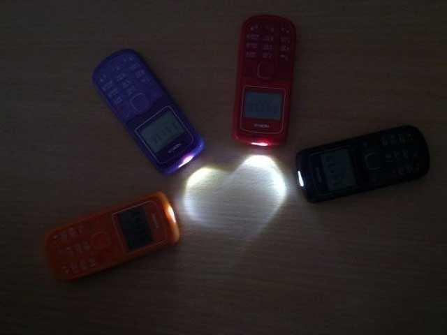 Свет мобильного