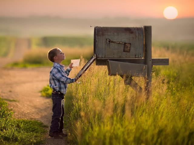 Как сделать почтовый ящик?