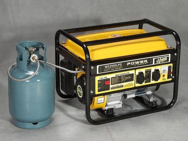 Газовый генератор с автозапуском для дома