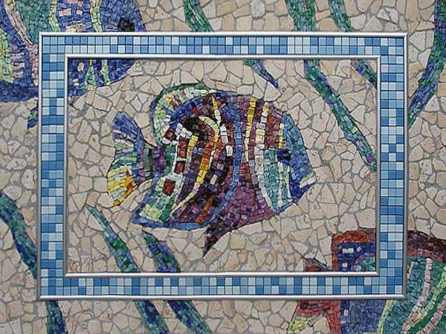 Фигурки из мозаики
