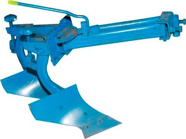 Схема поворотной лопаты для мотоблока Нева