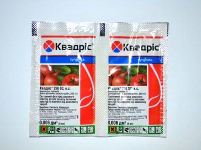 Химические вещества для борьбы с болезнями овощей