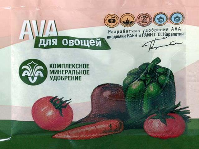 Комплексная подкормка для овощей