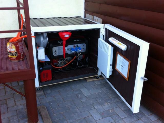 Агрегат для коттеджа