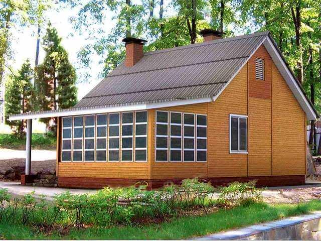 Дачные домики эконом класса