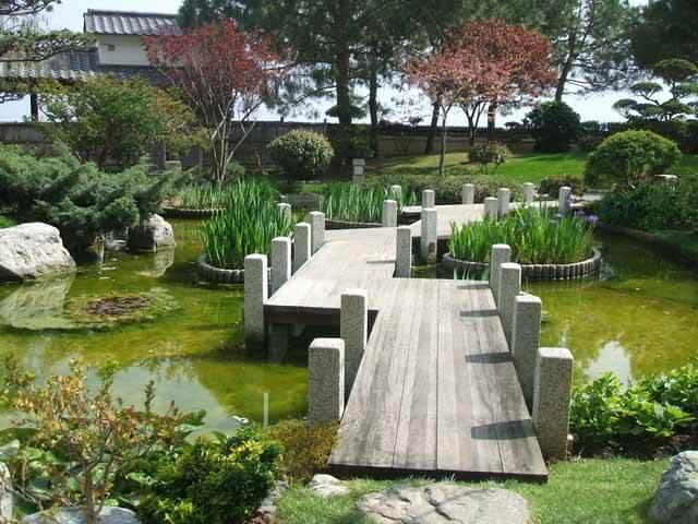 Как оформить темную сторону садового участка?