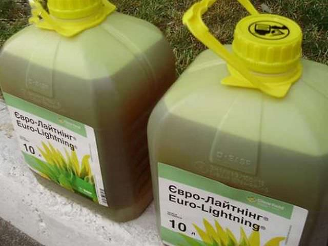 Как стирать вещи испачканные гербицид евролайтинг?