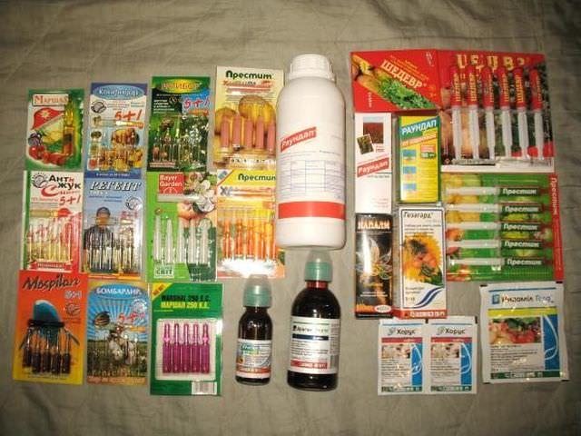 Химические вещества для борьбы с заболеваниями растений