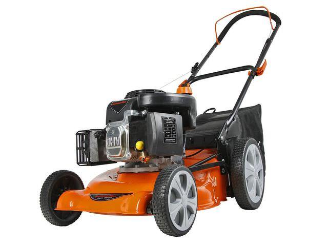 Машина для стрижки газона с двигателем