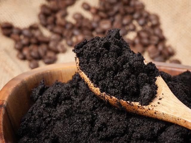 Удобрение кофейная гуща