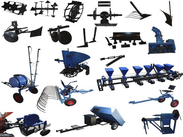 Механизмы для сельскохозяйственной машины