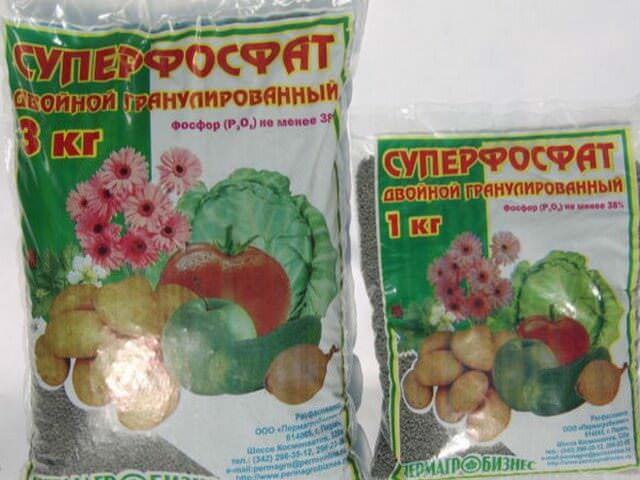 Фосфорное удобрение для цветов