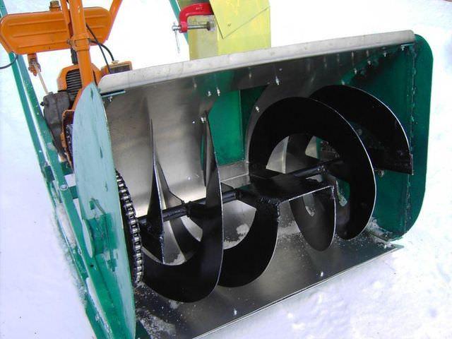 Мощная техника своими руками для уборки снега