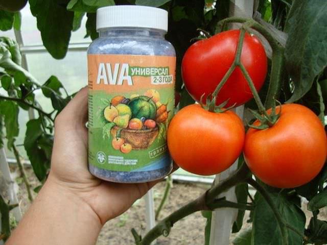 Подкормка в гранулах для помидоров