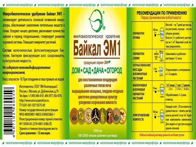 Рекомендация по использованию подкормки для растений