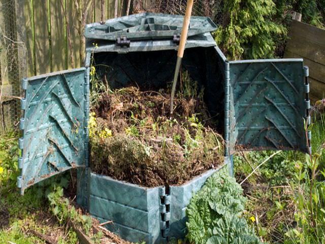 компост для садового и огородного участка