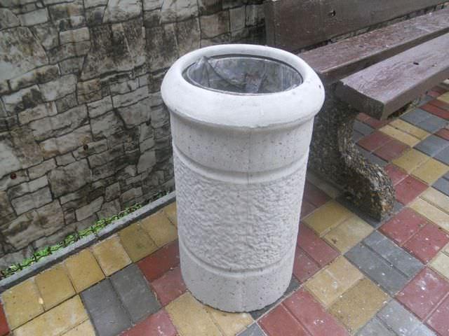 Емкость из бетона