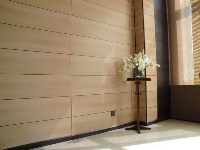 Стеновые панели в отделке пристроя