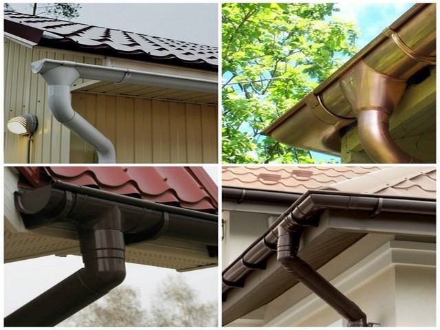 Водосток для крыши своими руками дешево