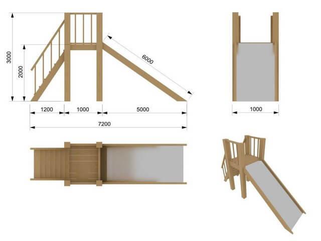 Схема детской Игровой площадки