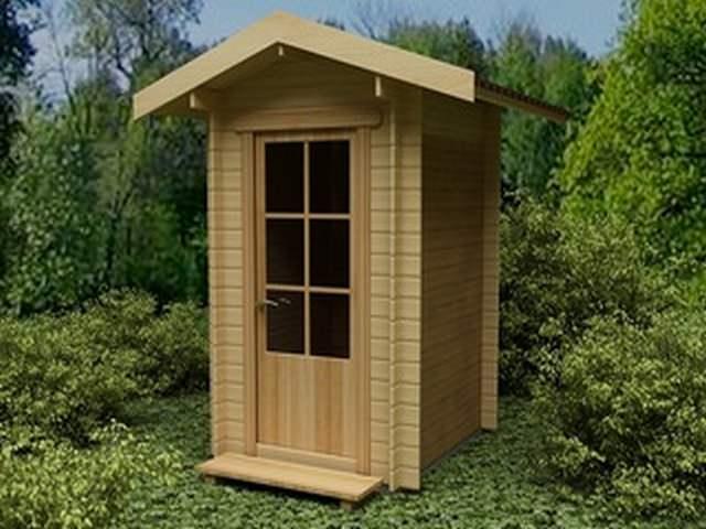 Туалет во дворе строим сами