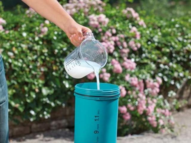 Азофоска как разводить в воде
